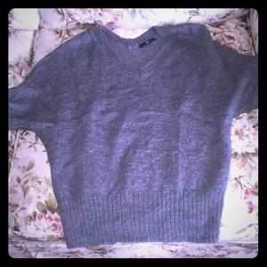 Gap short sleeved wool blend sweater size small